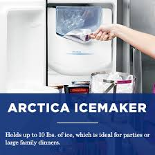 black friday deals at home depot ice makers ge 25 4 cu ft side by side refrigerator in slate gss25gmhes