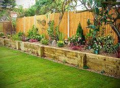 Ideas Garden Backyard Design Ideas Garden Sleepers Raised Garden Beds Ideas