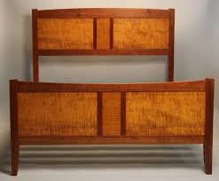 doucette and wolfe fine furniture makers frame and panel bed