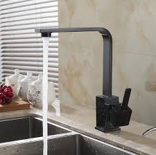 kitchen faucets free free shipping polished black brass swivel kitchen faucets sinks