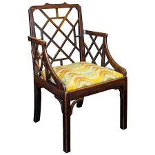 Armchair Legs Chippendale Or George Ii Carved Mahogany Armchair With Marlboro