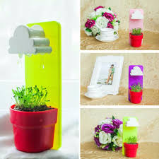 creative cloud hanging plant home garden balcony table decoration