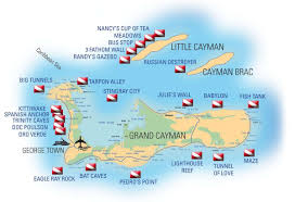 Grand Cayman Map Cayman Aggressor 4 Dive And Cruise