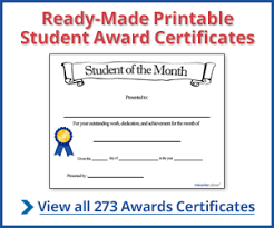 student award certificates free certificate builder