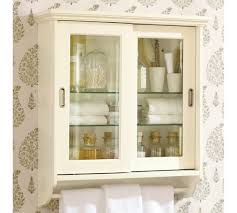 Wall Cabinet Glass Door Sliding Door Wall Cabinet Pottery Barn