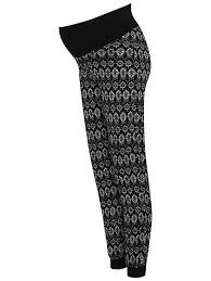 maternity trousers maternity printed lounge women george