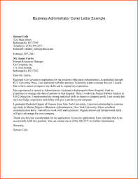 administrative cover letter sample image collections letter