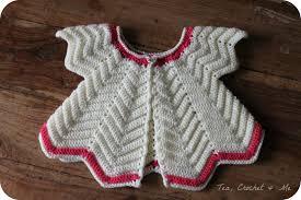 crochet baby sweater pattern crochet baby cardigan t e a c r o c h e t m e