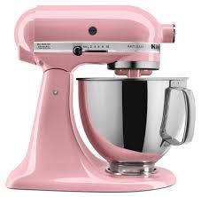 light pink kitchenaid stand mixer kitchenaid 5 quart artisan stand mixer guava glaze everything