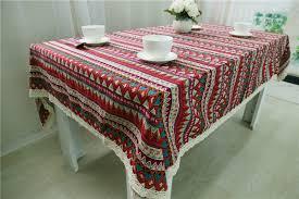 farmhouse style table cloth three color stripes table cloth vintage farmhouse style tablecloths