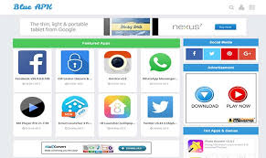 templates for blogger for software apk blogger template