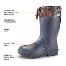 motorcycle boots canada kamik men u0027s sportsman rubber boots waterproof insulated 299853