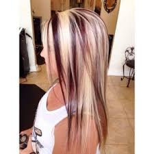 long blonde hair with dark low lights ideas of best fashion long hairstyles with highlights and