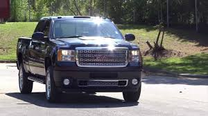 2013 gmc 2500hd 6 6 duramax denali review and exhaust youtube