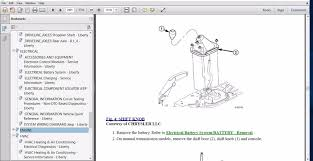 jeep liberty cartoon official workshop manual service repair for jeep liberty kk 2008