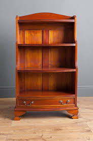 Narrow Mahogany Bookcase by Antiques Atlas Mahogany Waterfall Bookcase