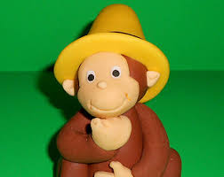 curious george cake topper curious george cake topper personalized topper