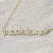 Wire Name Necklace Aliexpress Com Buy Pinjeas Custom Name Choker Chain Necklace