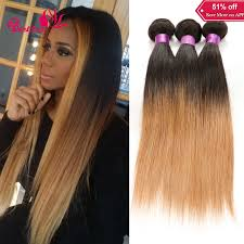 ombre weave aliexpress buy 7a ombre hair extensions 1b 27 brown