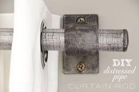 diy gold pipe curtain rod u2013 craftbnb