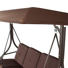 Outdoor Deck Furniture by Converting Outdoor Swing Canopy Hammock Seats 3 Patio Deck