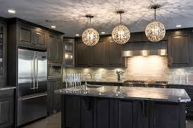 Black Kitchen Light Fixtures Kitchen Light Fixtures Flush Mount White Marble Countertop Silver