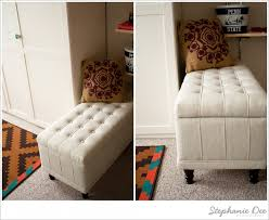 Ottoman Filing Cabinet Diy Diaries Storage Bench File Cabinet Stephanie Dee Photography