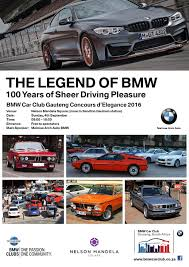 bmw advertisement bmw car club gauteng concours d u0027elegance 2016
