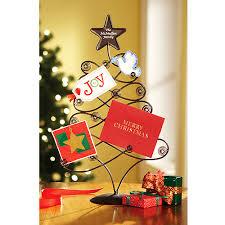 christmas holders personalized metal christmas card holder walmart