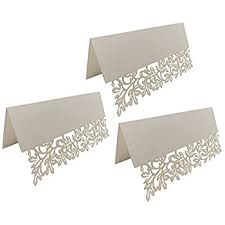 Paper Table L Uniqled Pack Of 60 Paper Laser Cut Leaves Wedding