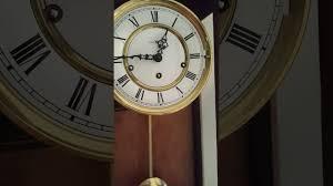 Howard Miller Chiming Mantel Clock Howard Miller Wall Clock 612 581 Triple Chime Key Wind Movement