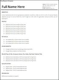resume format it professional professional resume template word exles of resumes for