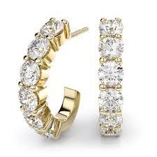 gold diamond earrings earrings in gold