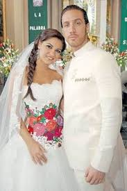 traditional mexican wedding dress flower embroidered and flowers embroidered wedding dress