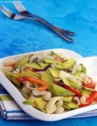 avocado tomato and mozzarella pasta salad recipe italian