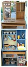 Childrens Work Benches Make A Kids Play Kitchen With An Old Nightstand Nightstands