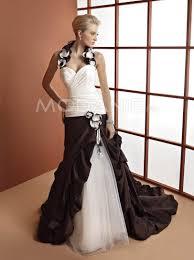 robe de mari e bicolore bicolore robe de mariée avec style moderne satin organza ruche