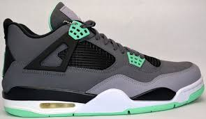 green glow 4 air retro 4 green glow the heat check
