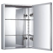 Mirrored Medicine Cabinet 3 Doors Whitehaus Vertical Wall Mount Medicine Cabinet With Mirrored Door