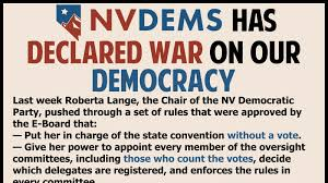 Nevada Power Of Attorney by Petition Nevada State Democratic Party Tell Nvdems To Not Steal
