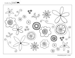 flowers u2013 early play templates