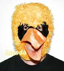 Big Bird Halloween Costumes Halloween Yellow Big Bird Costume Kids Hat Mask Birthday