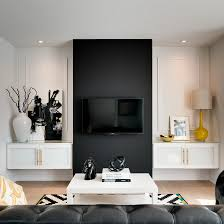 living black tv wall design flat screen tv design ideas stands