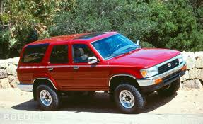 toyota forerunner 1995 toyota 4runner information and photos zombiedrive