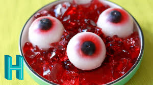 gummy eyeballs halloween diy hilah cooking youtube