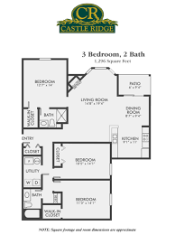 three bedroom apartments for rent castle ridge apartments