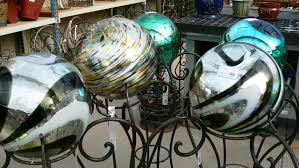 Gazing Ball And Stand Garden Market Imports Home Patio Antiques Garden Furniture