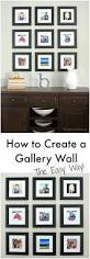 how to create a gallery wall the easy way