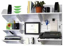 wall control white panel home u0026 office wall organizer kit