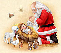 santa and baby jesus picture mobtown shank what baltimore freecycles santa meets baby jesus